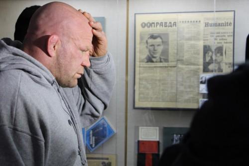 Джефф Монсон побывал на родине первого космонавта Юрия Гагарина