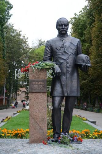 В Смоленске увековечили память Александра Лопатина