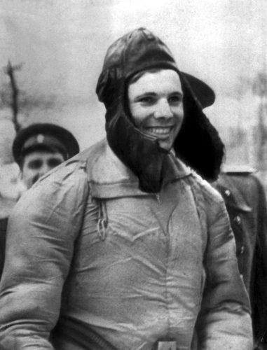 Юрий Гагарин 12 апреля 1961 года на Саратовской земле